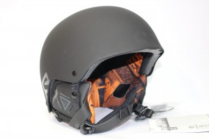 Kask Salomon BRIGADE AUDIO Black Matt/Orange