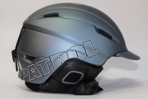 Kask Salomon PATROL Gun Metal Matt
