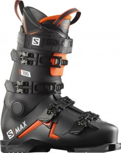 Buty  narciarskie Salomon S/MAX 100 Black/Orange/White