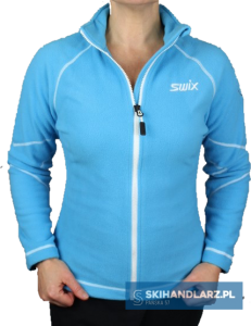 Damska bluza polarowa Swix PODIUM FLEECE W Pacific Blue