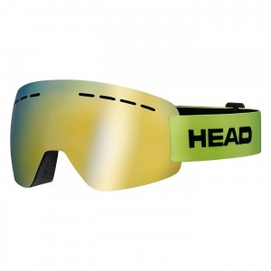 Gogle HEAD SOLAR FMR lime M
