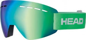 Gogle HEAD SOLAR FMR Green L