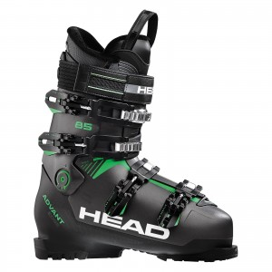 Buty Narciarskie HEAD ADVANT EDGE 85 ANTHR./ BLACK-GREEN