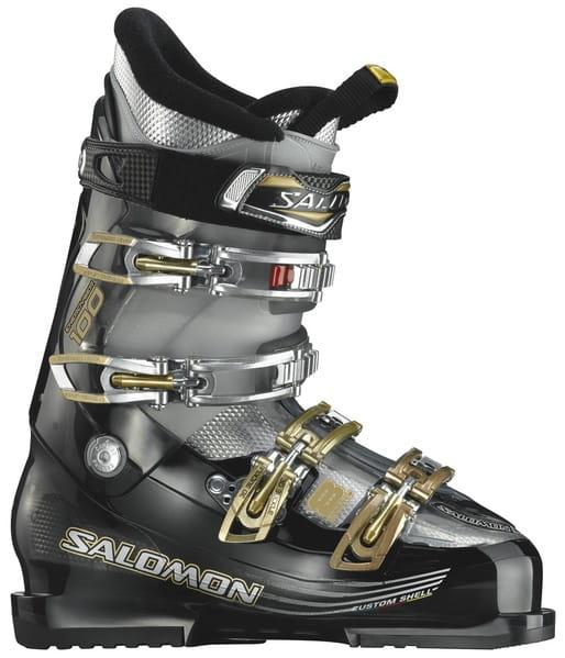 Buty narciarskie Salomon IMPACT 8 CS Black TranslucentCrystal