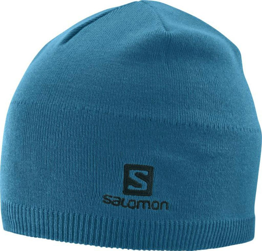 Czapka Salomon SALOMON BEANIE MOROCCAN BLUE